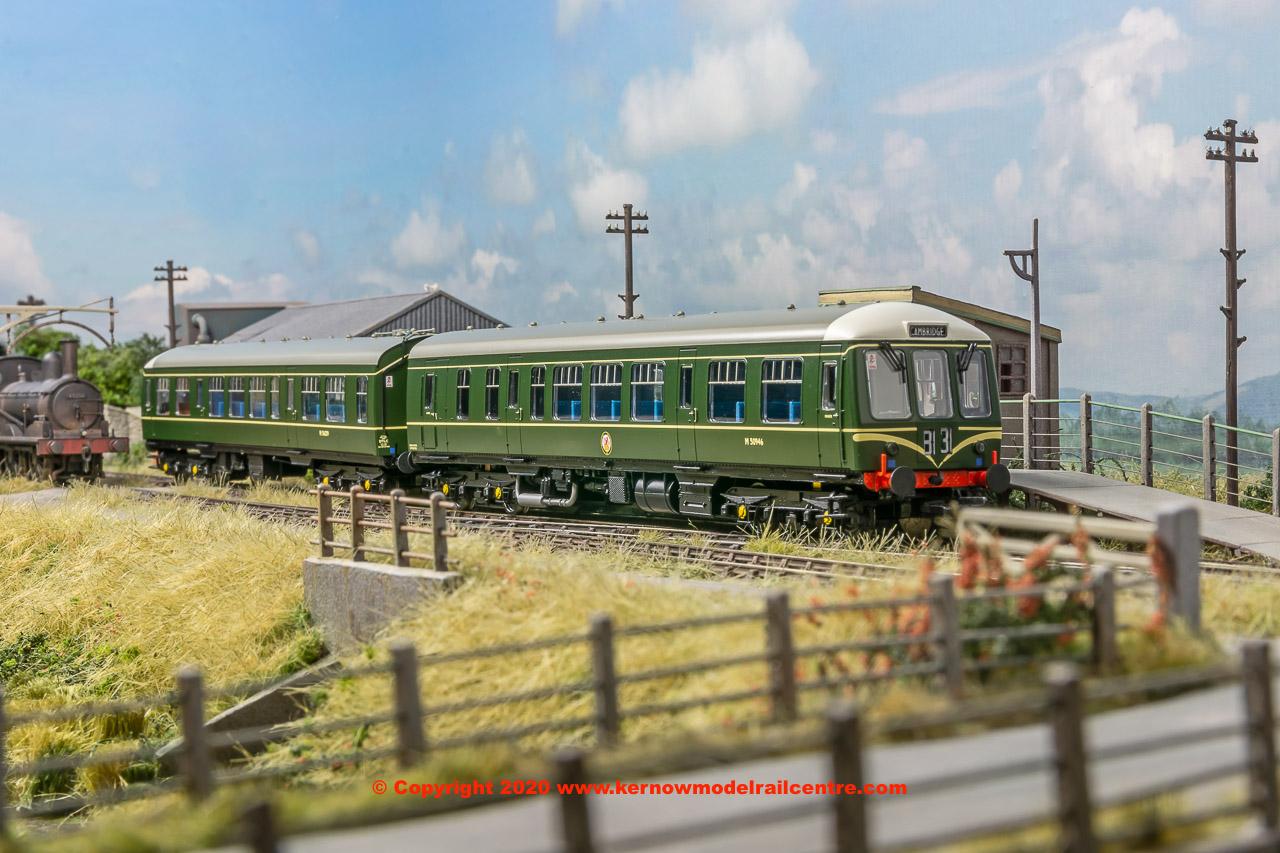 32-900C Bachmann Class 108 2-Car DMU BR Green Image